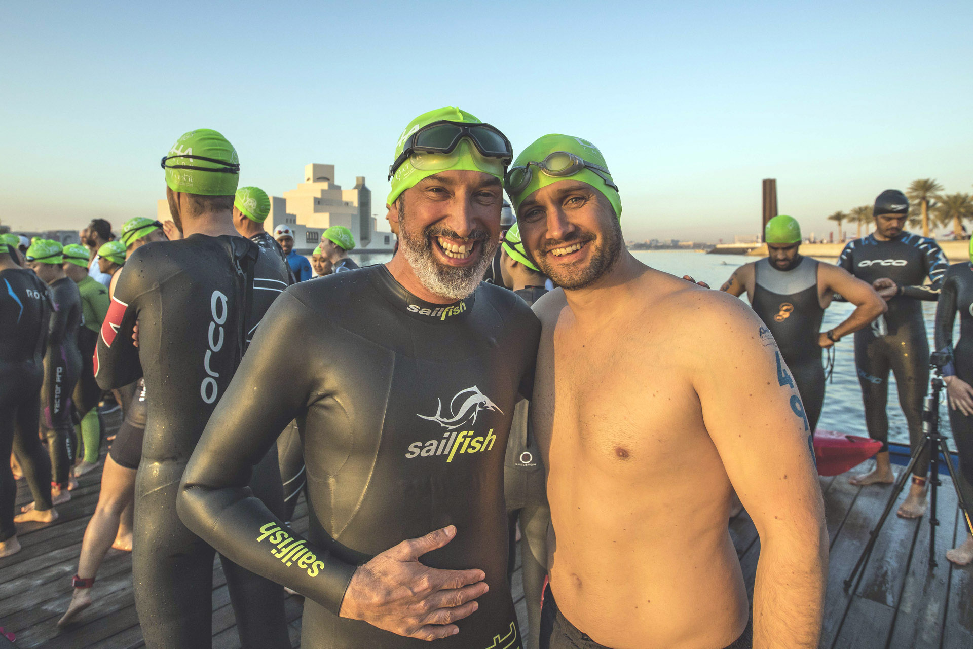 Doha Triathlon is wetsuit optional