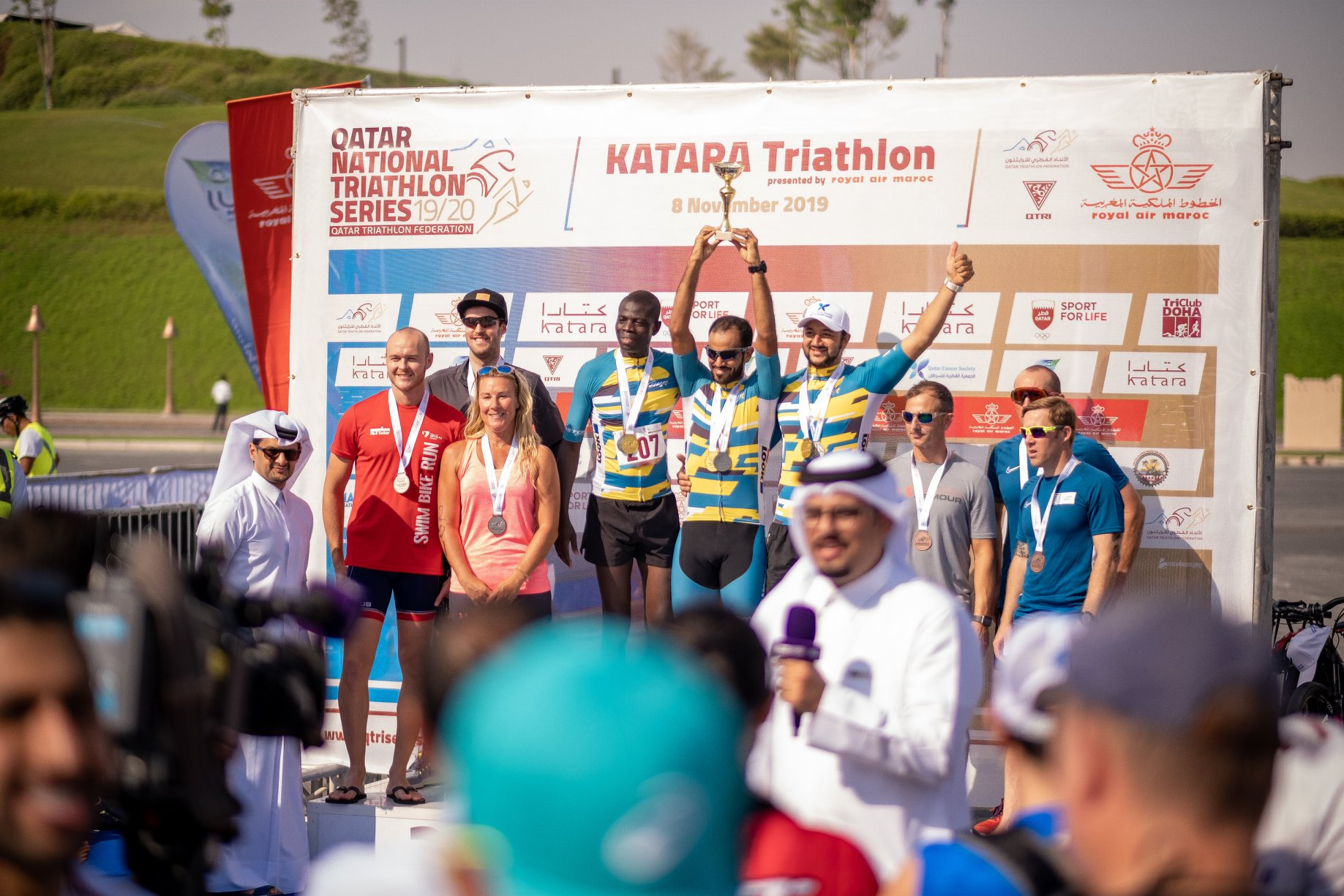 Final standings of Qatar National Triathlon Series 2019/2020