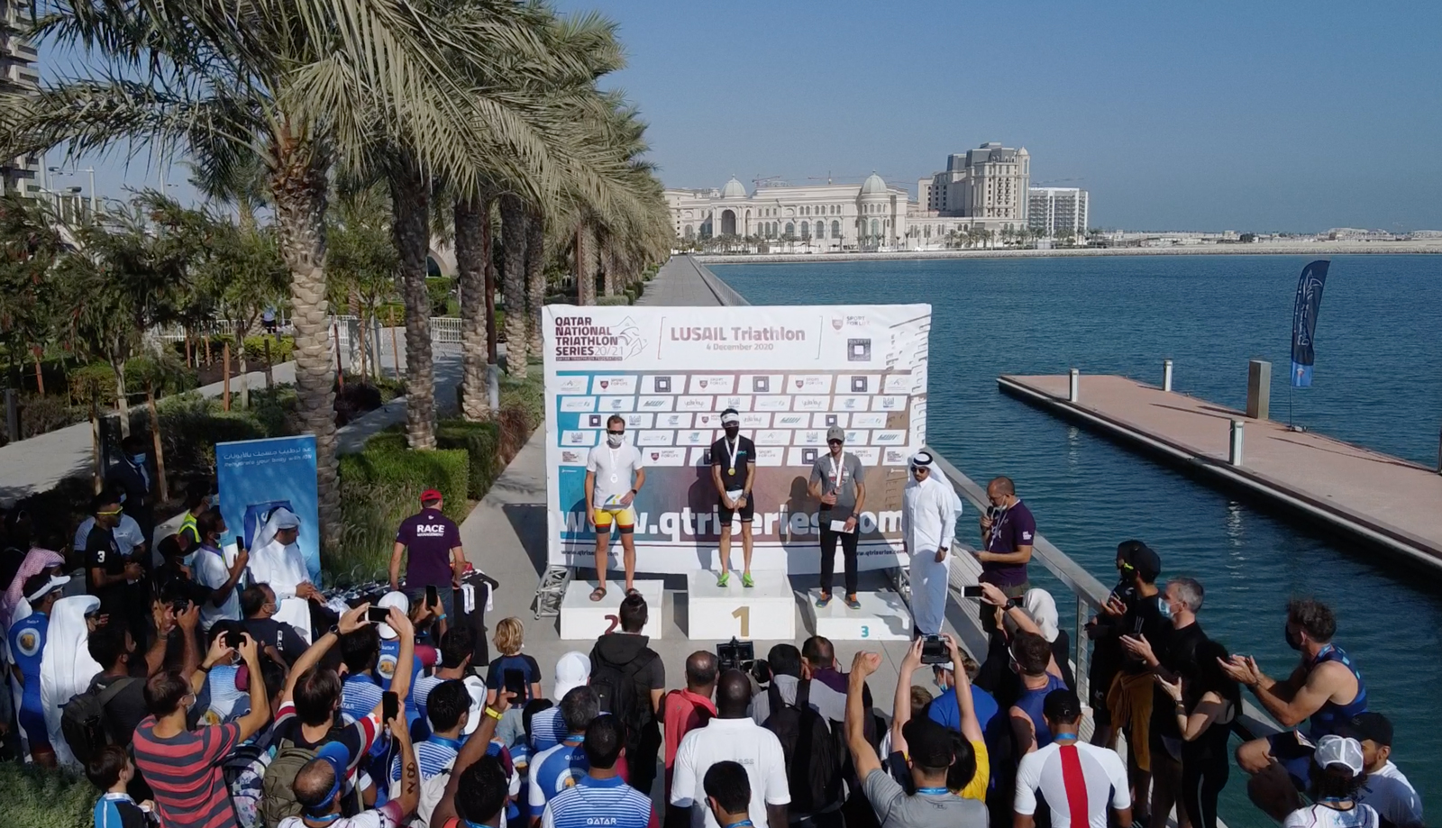 World class triathlon but not the world comes to Lusail City